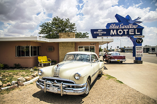 Blue Swallow Motel. TUCUMCARI, NM