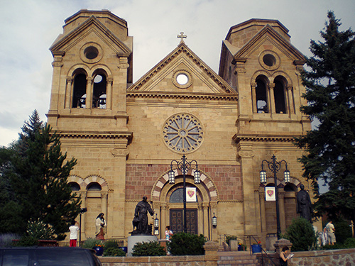 Catedral de San Francisco de Asís. SANTA FE, NM